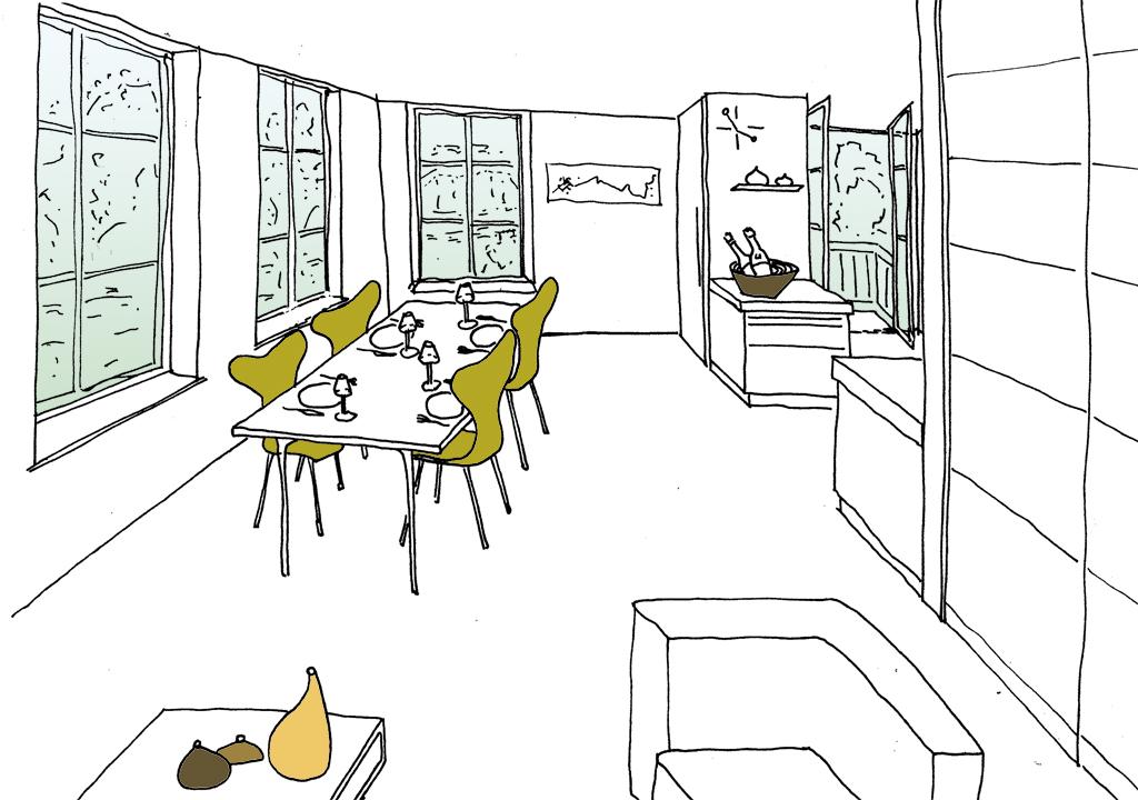 Projecten ontwerpstudies prijsvragen christina fuchs for Schets programma