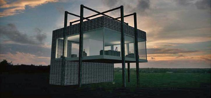 3D impressie nieuwbouw woonhuis