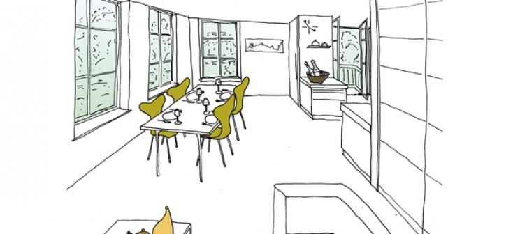 verbouwing open verbinding keuken woonkamer
