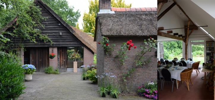 verbouwing atelier tuinkamer betrekken bij woonhuis