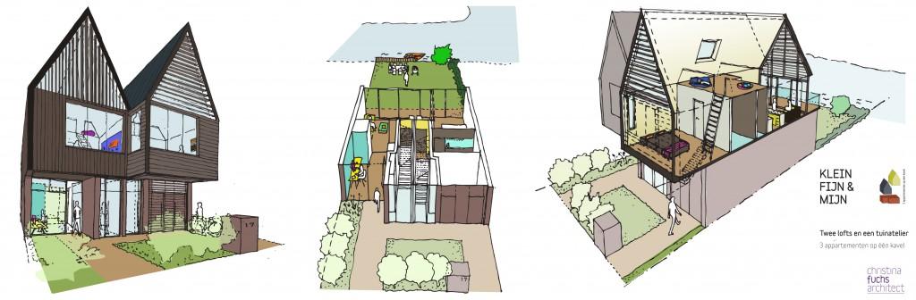 appartementen klein compact loft tuinatelier