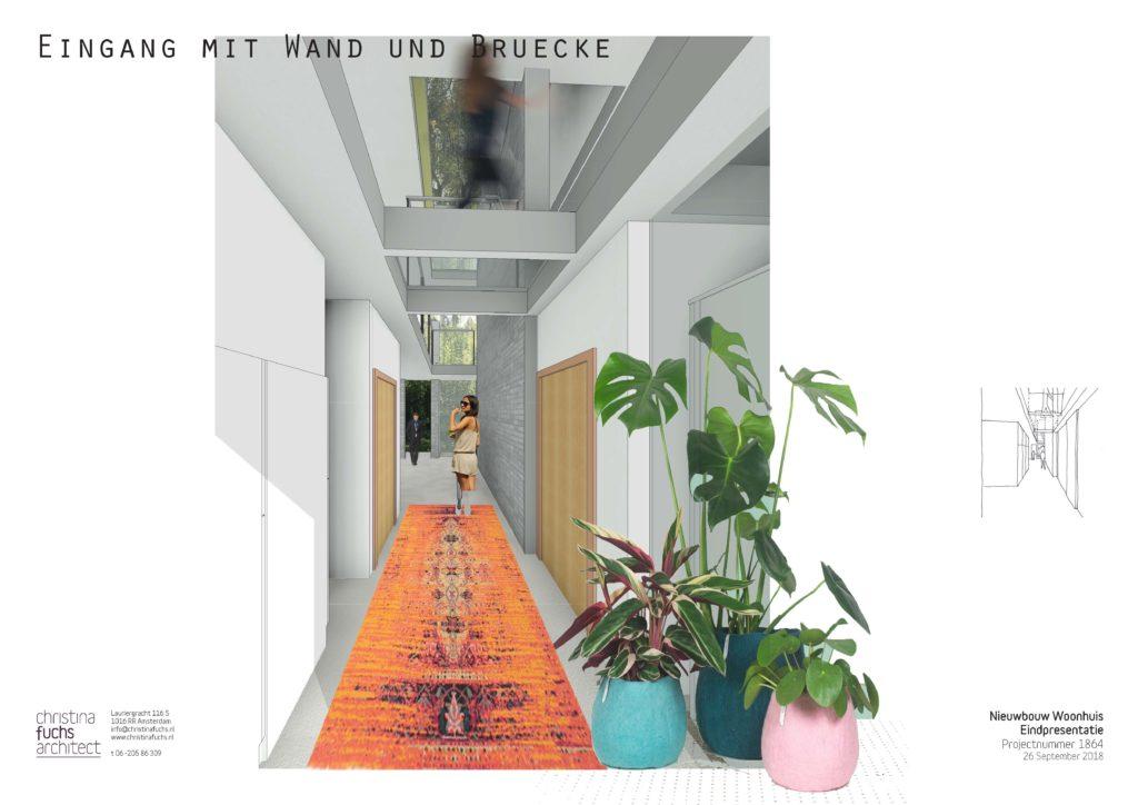 christina fuchs architect schetsontwerp woonhuis